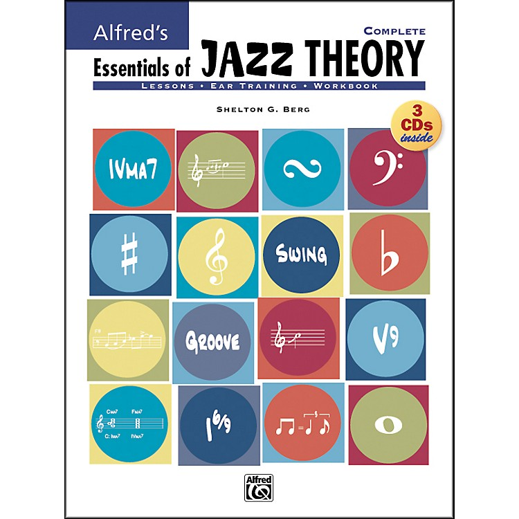 AlfredEssentials Of Jazz Theory Complete 1-3 Book/Cds
