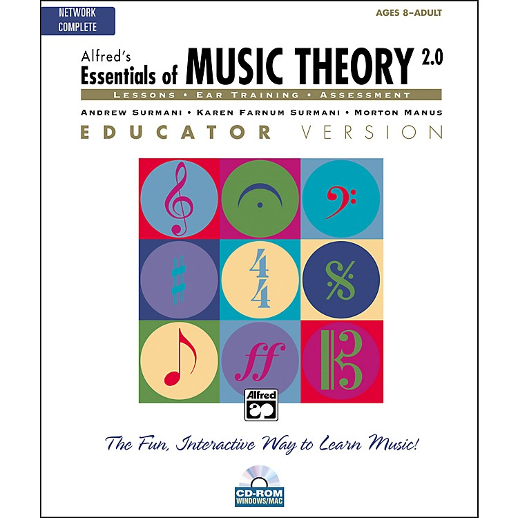 AlfredEssentials of Music Theory 2.0 Educator Version Complete (CD-ROM)