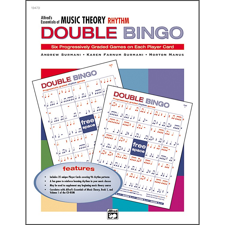 Alfred Essentials of Music Theory Double Bingo Rhythms