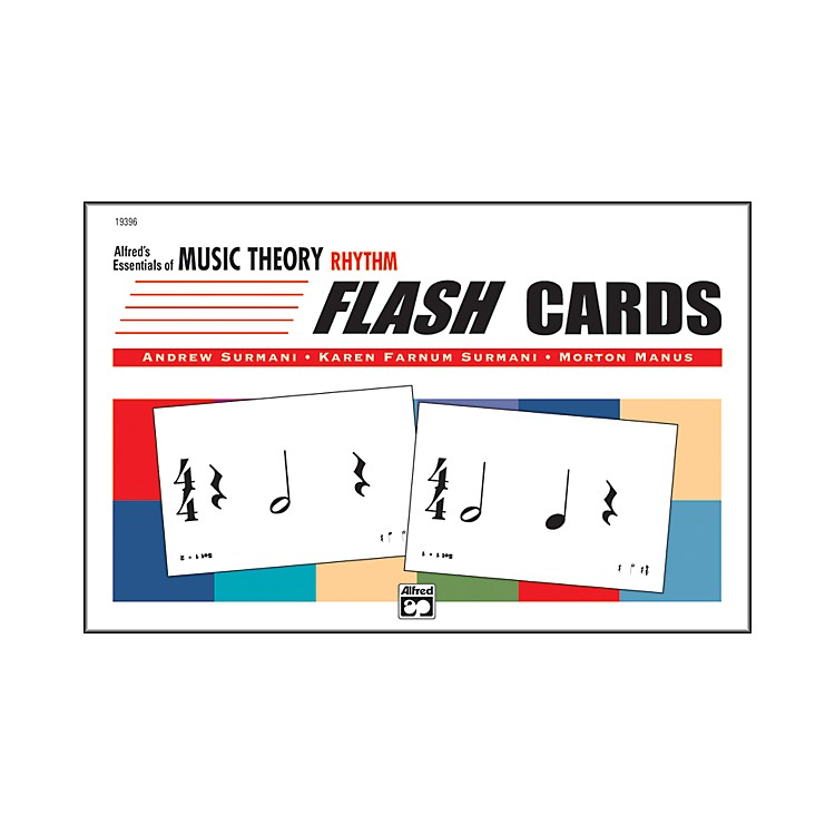 Alfred Essentials of Music Theory: Flash Cards Rhythm