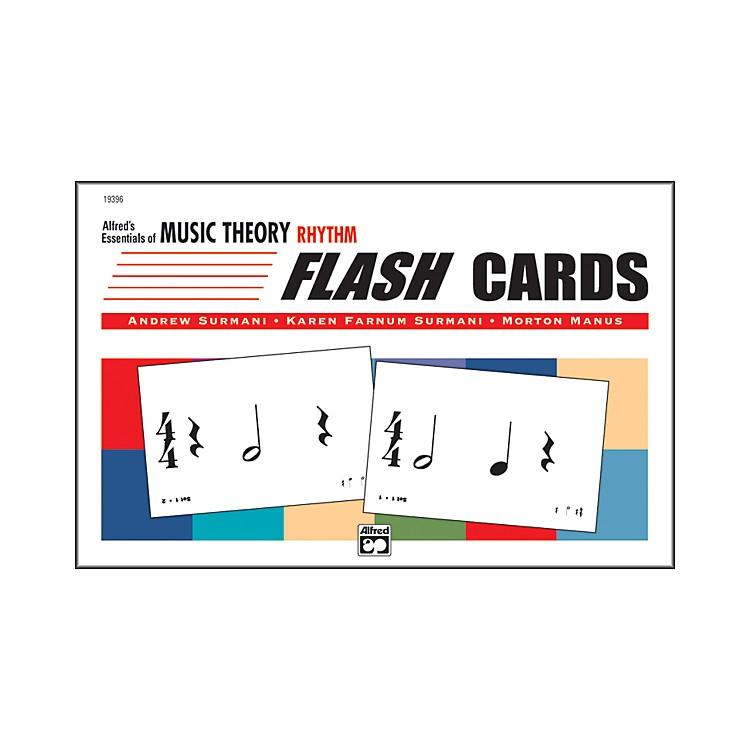 AlfredEssentials of Music Theory: Flash Cards Rhythm
