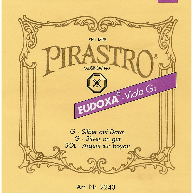 PirastroEudoxa Series Viola D String4/4 - 16-1/4 Gauge