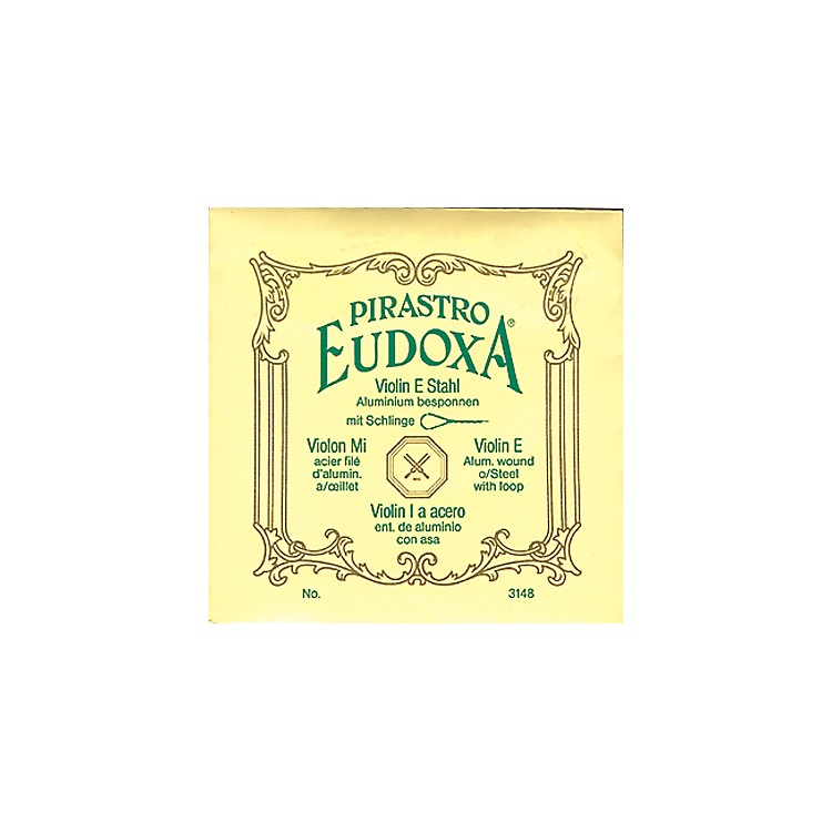 Pirastro Eudoxa Series Violin G String 4/4 - 15-3/4 Gauge Brilliant
