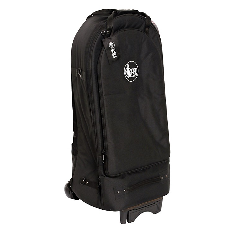 Gard Euphonium Wheelie Bag 52-WBFLK Black Ultra Leather