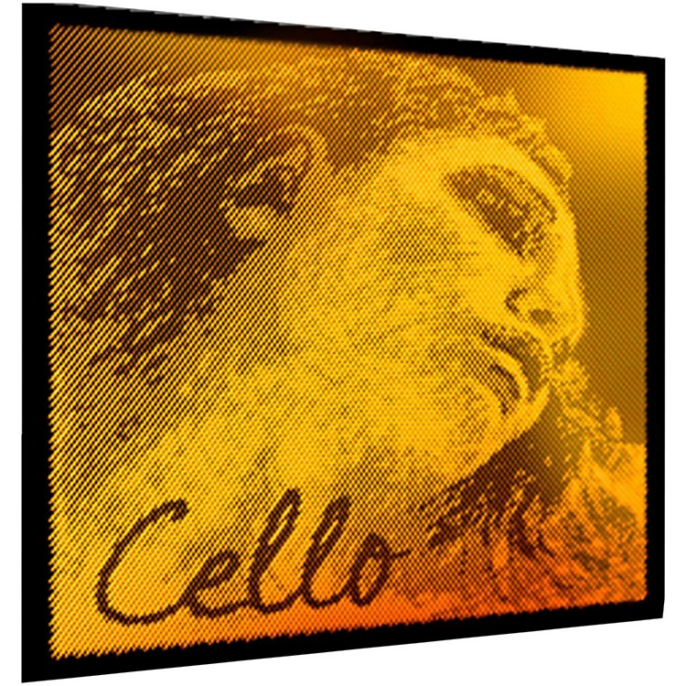 PirastroEvah Pirazzi Gold Cello String Set4/4 Medium