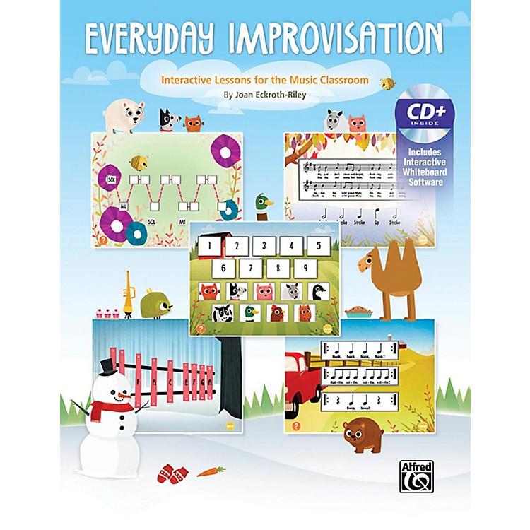 AlfredEveryday Improvisation Book & CD