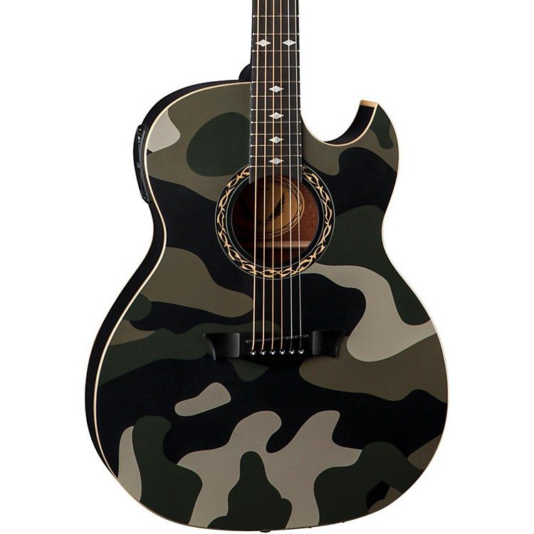 Dean Exhibition Acoustic-Electric Guitar Camouflage