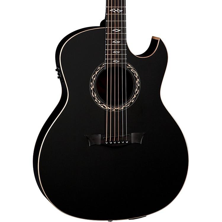 DeanExhibition Ultra Classic Black Acoustic-Electric w/USBBlack