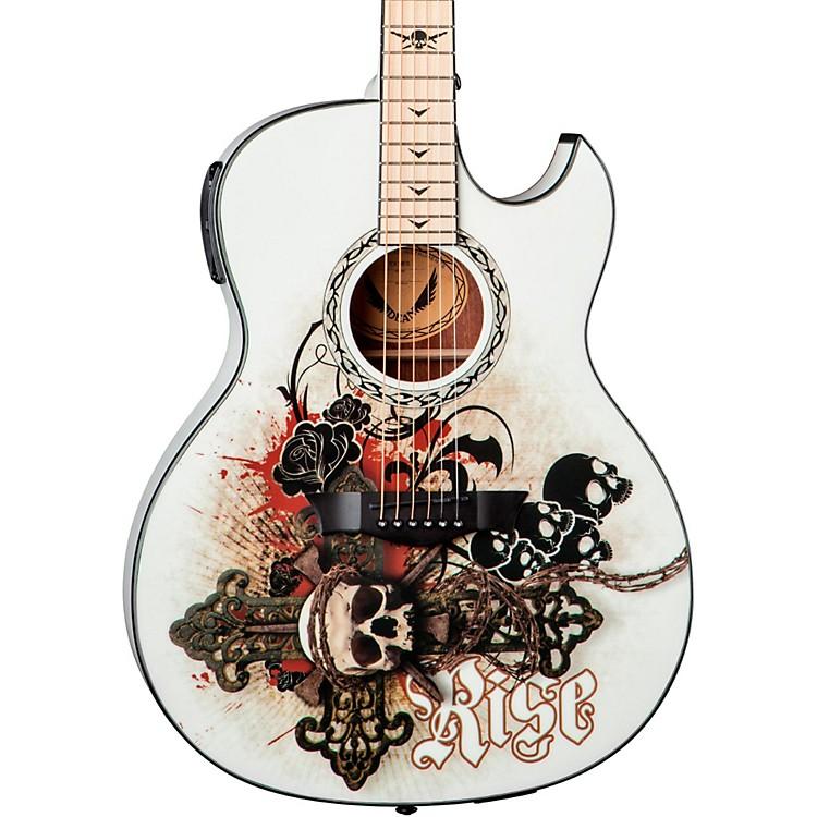 DeanExhibition thin Body Acoustic-Electric Guitar w/AphexResurrection