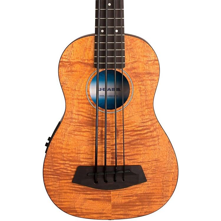 KalaExotic Mahogany Acoustic U-BassNatural