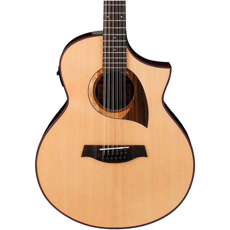 IbanezExotic Wood AEW2212CD-NT 12-String Acoustic-Electric GuitarNatural