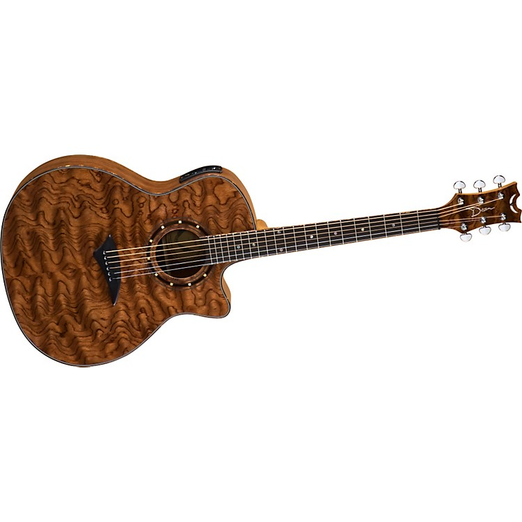Dean Exotica Grand Auditorium Acoustic-Electric Guitar Bubinga