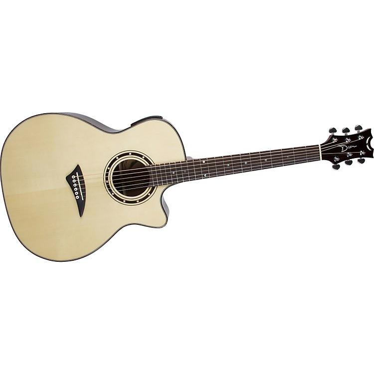DeanExotica Grand Auditorium Acoustic-Electric Guitar