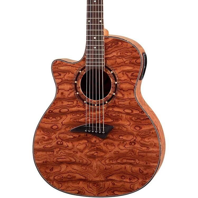 DeanExotica Left-Handed Bubinga Acoustic-Electric Guitar w/Aphex