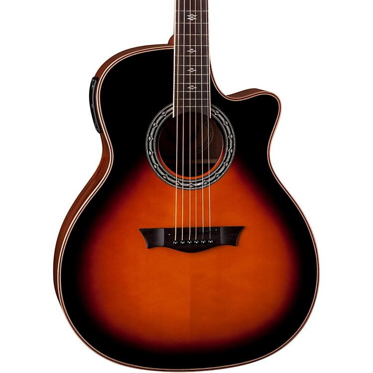 DeanExotica Plus Solid Top Acoustic-Electric Guitar