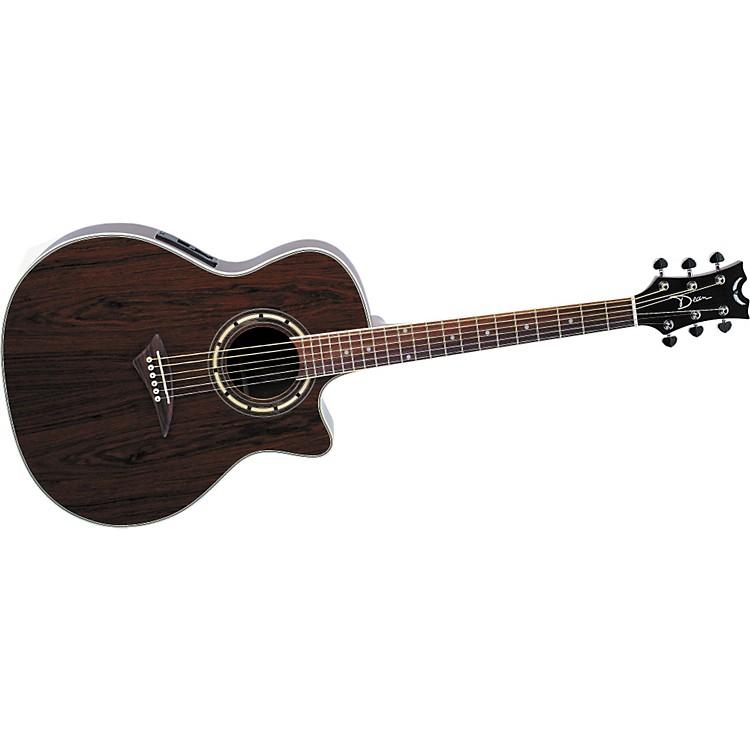 DeanExotica Walnut Acoustic-Electric Guitar