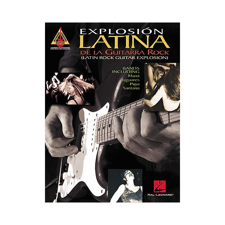 Hal LeonardExplosion Latina De La Guitarra Rock Tab