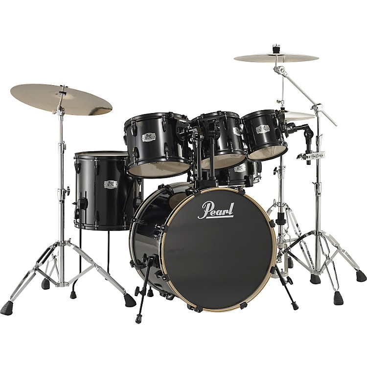 PearlExport 5-Piece Standard Drum Set with Free 10
