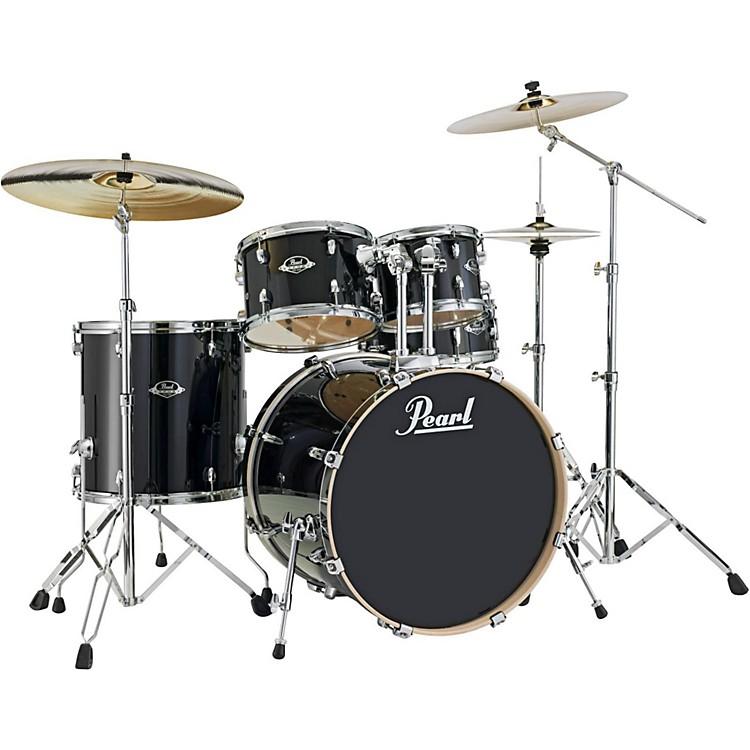 PearlExport EXL New Fusion 5-Piece Drumset with HardwareBlack Smoke