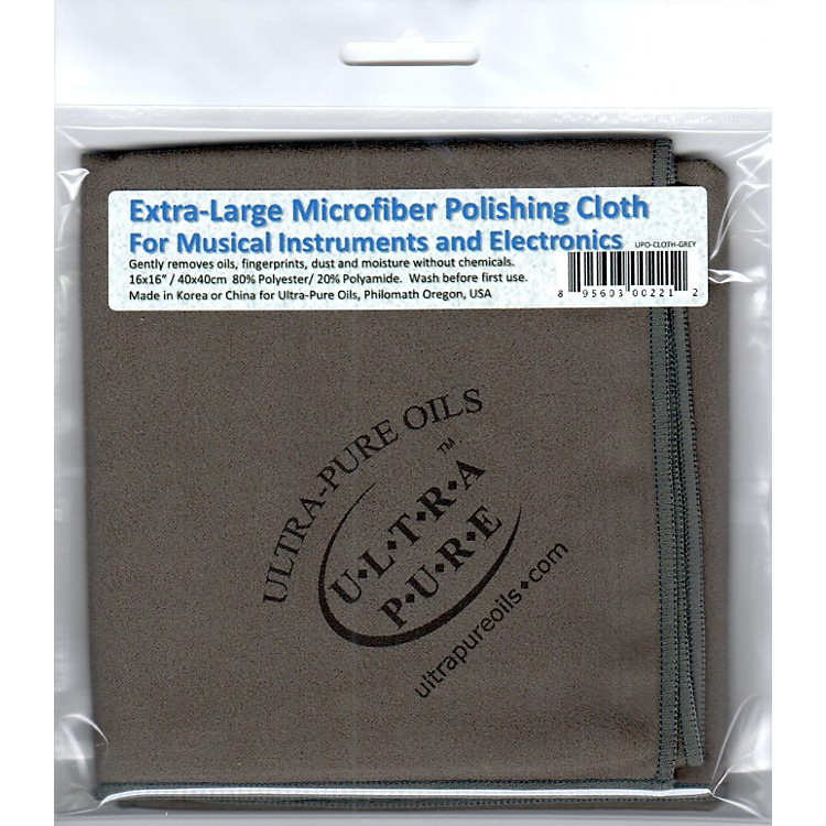 Ultra-PureExtra-Large Microfiber Polishing Cloth