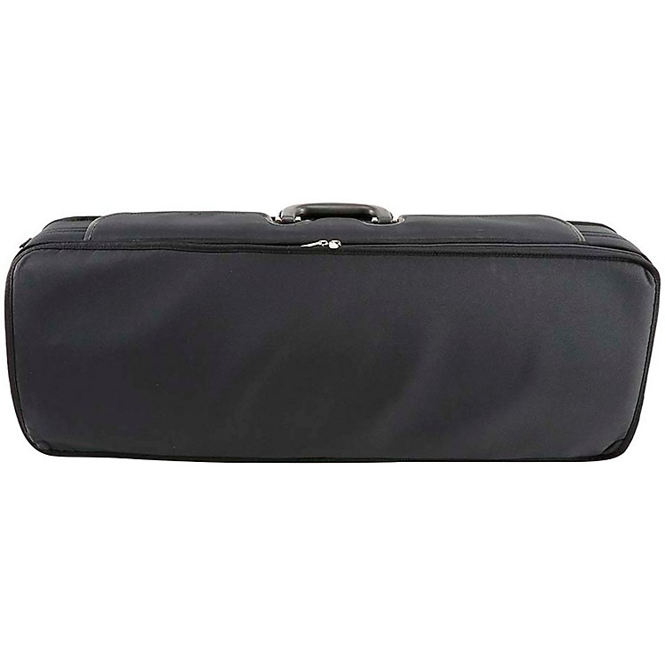 J. Winter Extra Light Series Adjustable Viola Case 15-16.5 Inch Black with Wine Interior