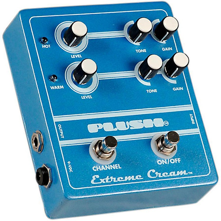 Plush Extreme Cream Overdrive Guitar Effects Pedal