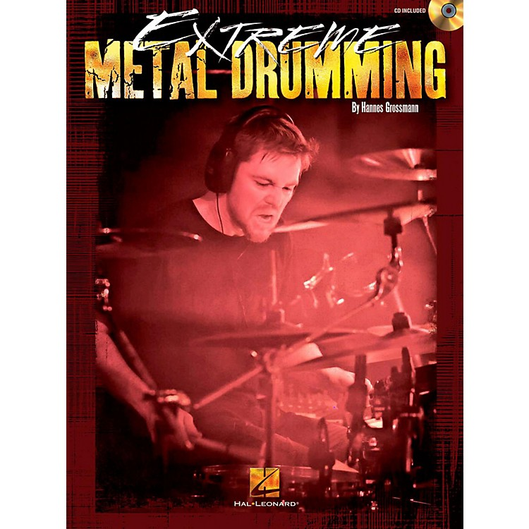 Hal LeonardExtreme Metal Drumming Book/CD