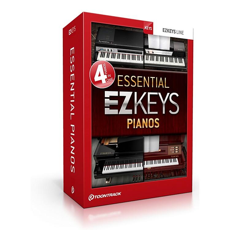 ToontrackEzkeys Essential Pianos Software Download