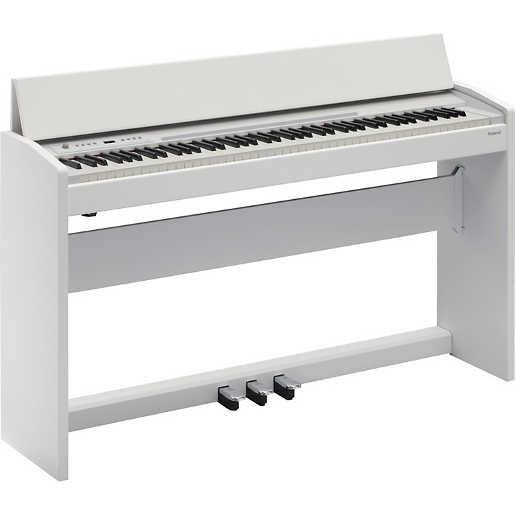 Roland F-120 SuperNATURAL Piano (White)