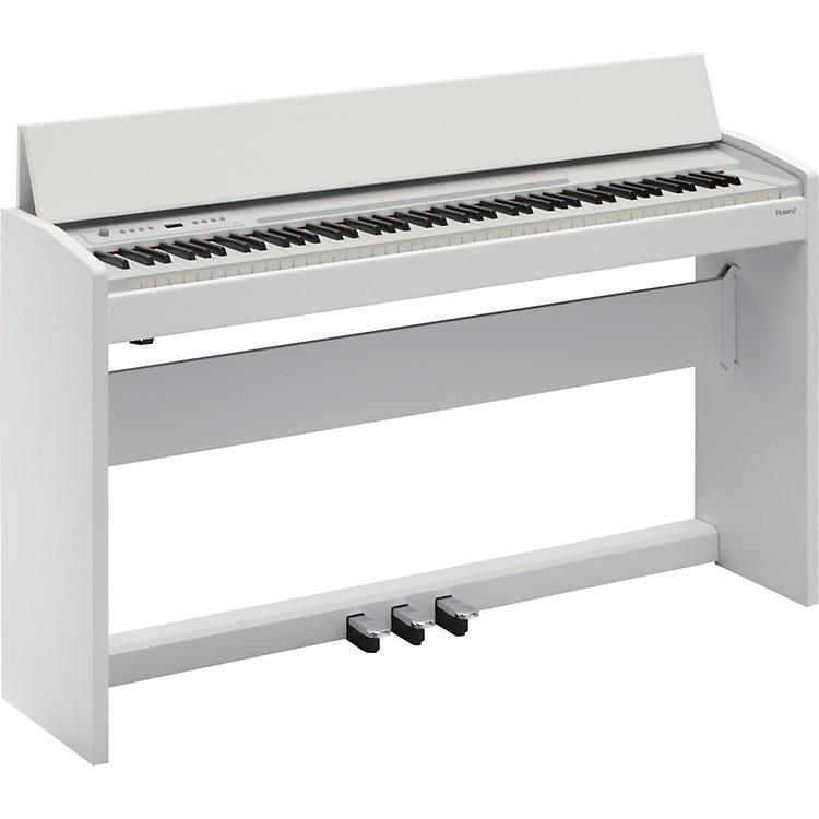 RolandF-120 SuperNATURAL Piano (White)