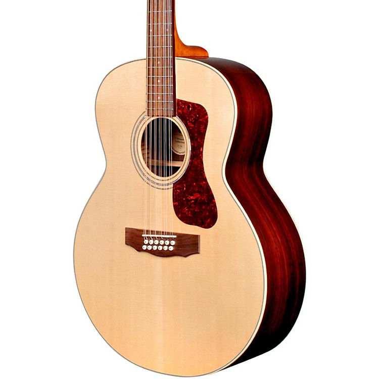 GuildF-1512E 12-String Acoustic-Electric GuitarNatural