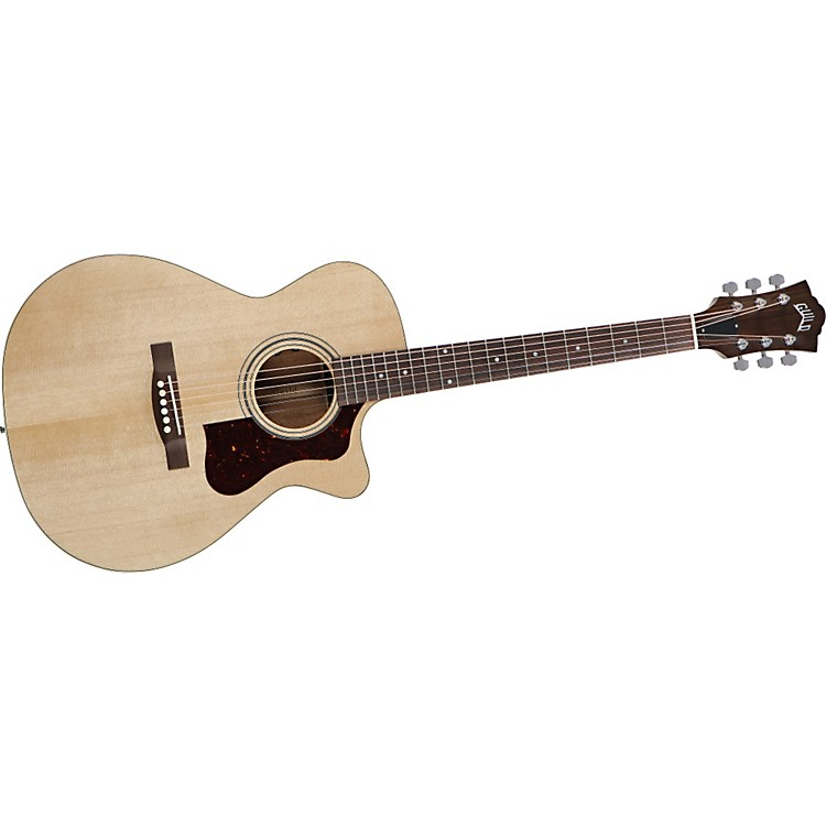 Guild F-30CE Cutaway Acoustic-Electric Guitar Natural