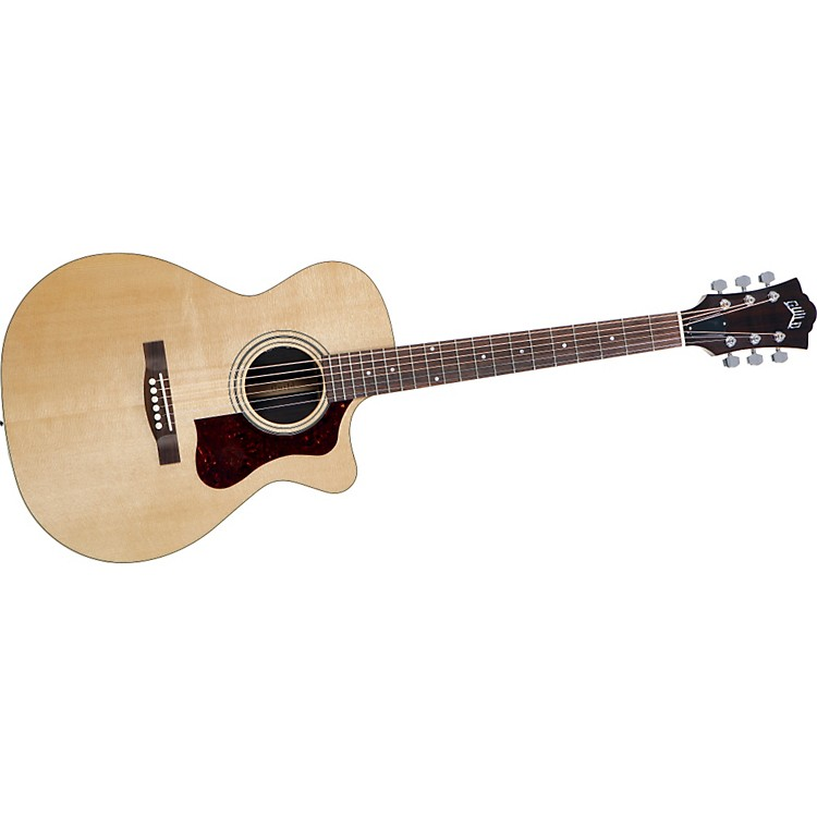 Guild F-30RCE Standard Cutaway Acoustic-Electric Guitar Natural