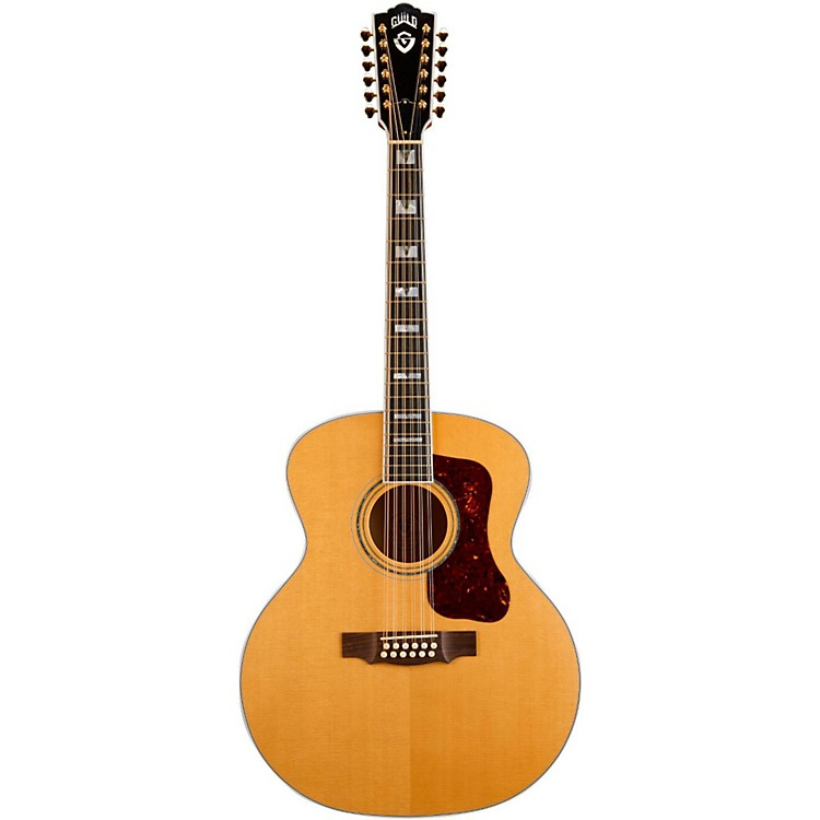 Guild F-412 Jumbo 12-String Acoustic Guitar Blonde
