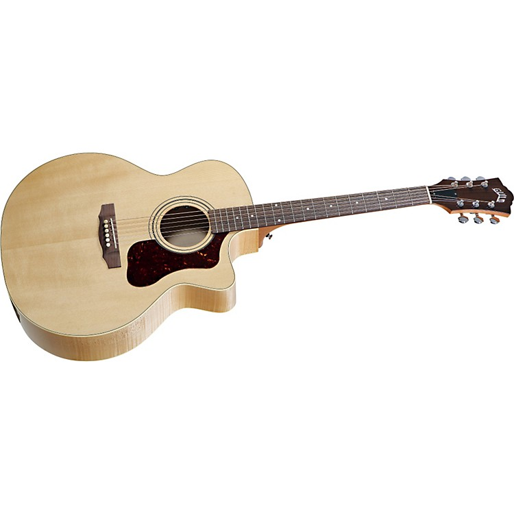 Guild F-50CE Standard Cutaway Acoustic-Electric Guitar Blonde