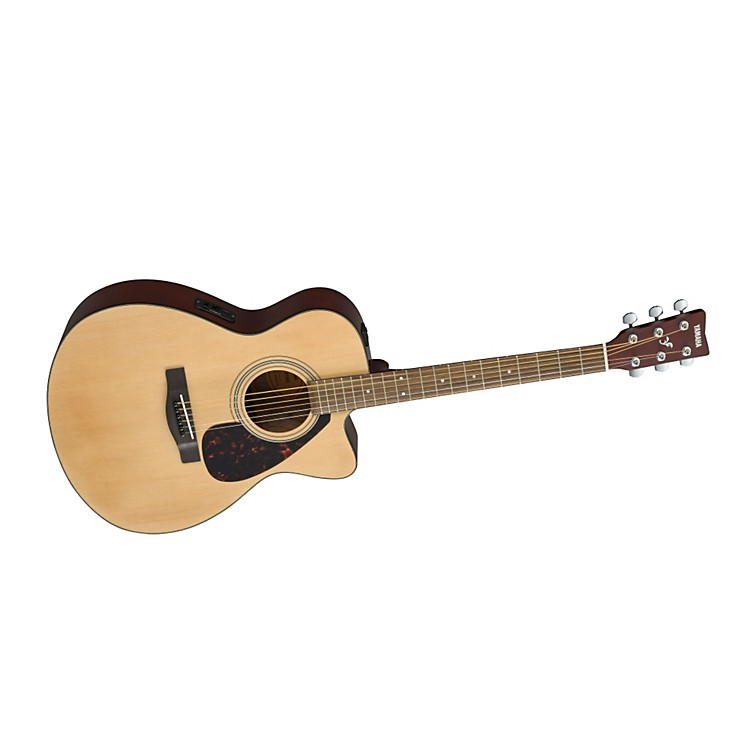 Yamaha F Series FSX315C Concert Cutaway Acoustic-Electric Guitar