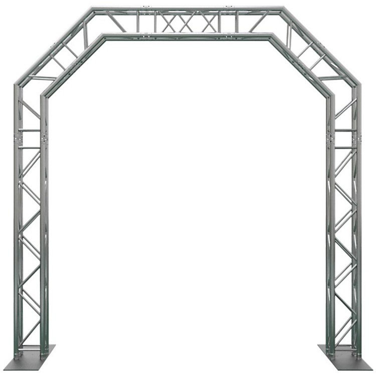 GLOBAL TRUSS F34 Series Arch Truss System 10 Foot x 10 Foot