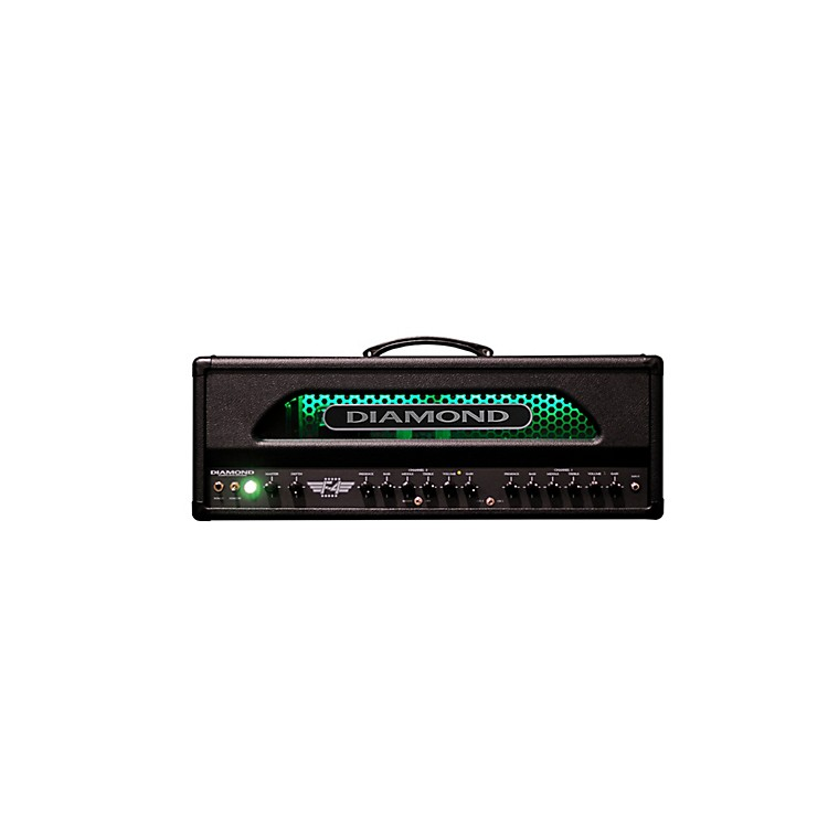 Diamond Amplification F4 Vanguard Series 100W Tube Guitar Amp Head Black