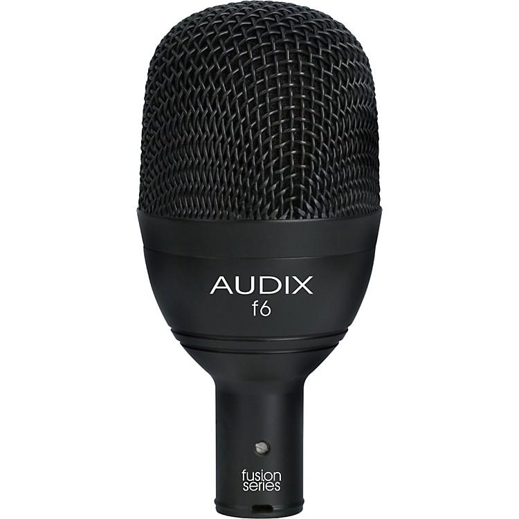 AudixF6 Kick Drum & Bass Frequencies Microphone