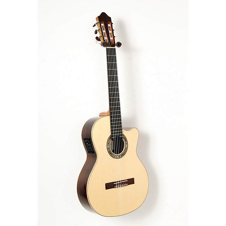 Kremona F65CW Fiesta Cutaway Acoustic-Electric Classical Guitar Natural 888365850665