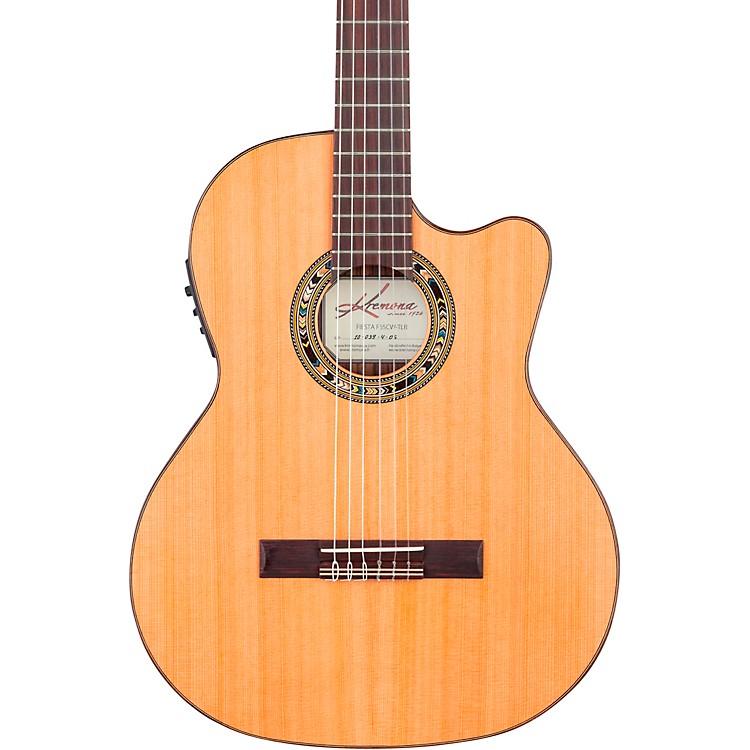 KremonaF65CW TL Thin Bodied Nylon-String Acoustic-Electric GuitarNatural