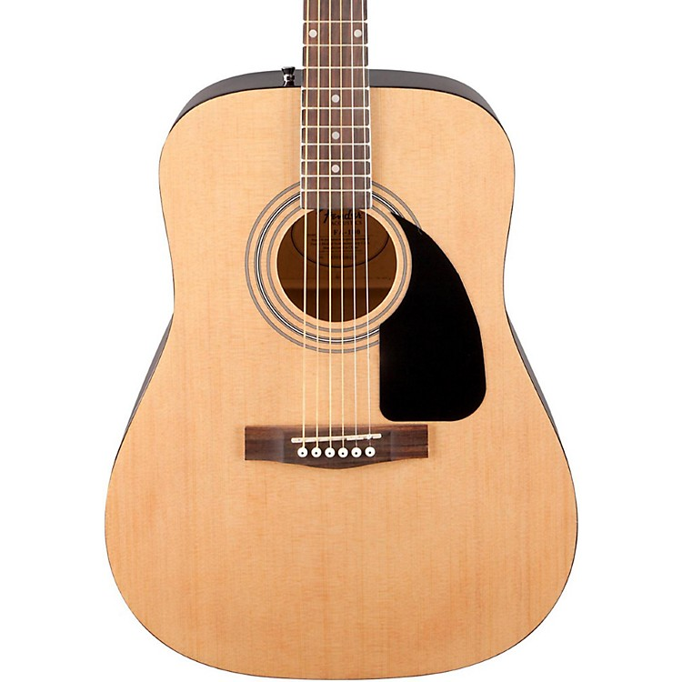 Fender FA-100 Acoustic Guitar with Gig Bag Natural