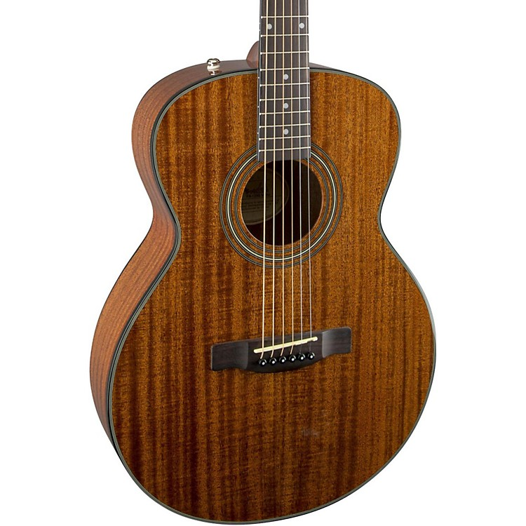 Fender FA-125S All Mahogany Folk Acoustic Guitar Value Pack