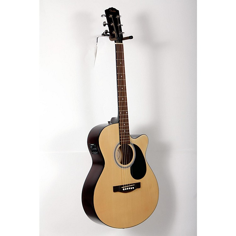 Fender FA135CE Concert Acoustic-Electric Guitar Natural 888365905914