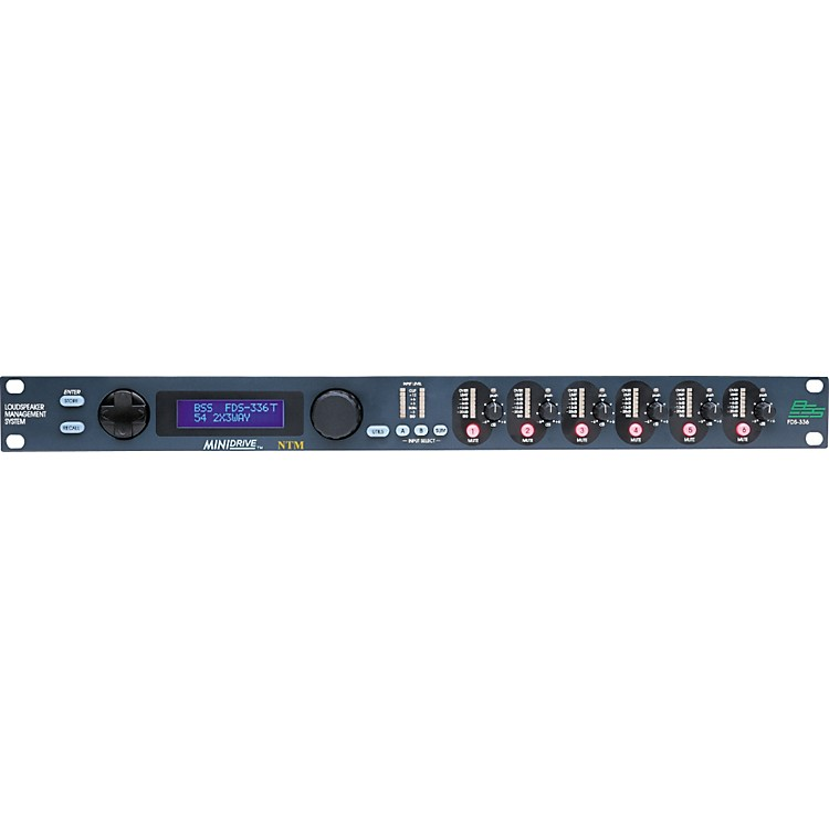 BSS AudioFDS-336T Minidrive Loudspeaker Management System 2x6