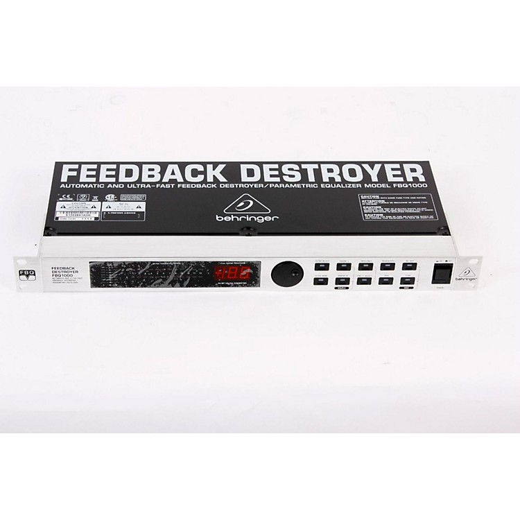 Behringer FEEDBACK DESTROYER FBQ1000 Parametric EQ Regular 888365215501