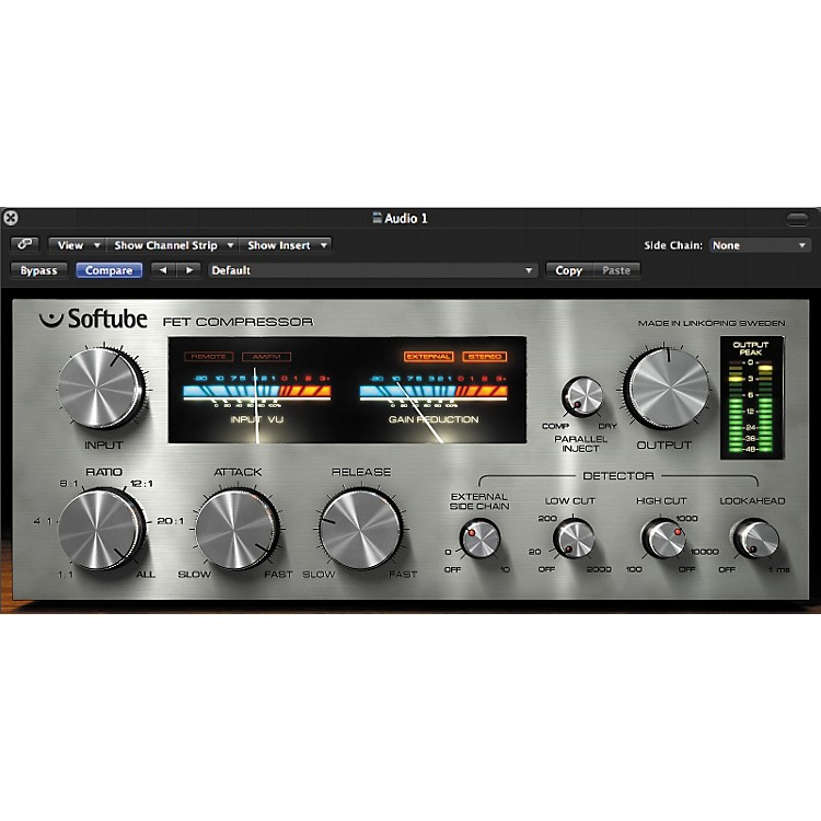Softube FET Compressor TDM Plug-In Software - Digital Download Digital Download