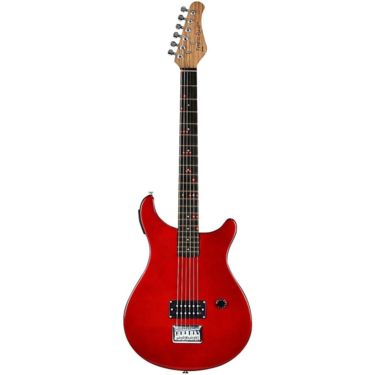 Fretlight FG-511 Standard Electric Guitar with Built-in Lighted Learning System Red