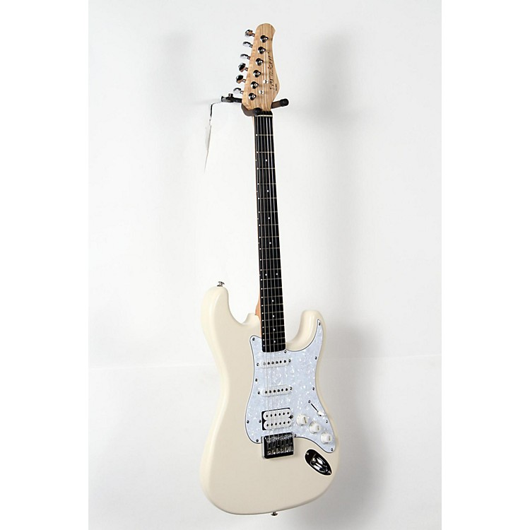 fretlight fg 621 wireless electric guitar white 888365953922 music123. Black Bedroom Furniture Sets. Home Design Ideas