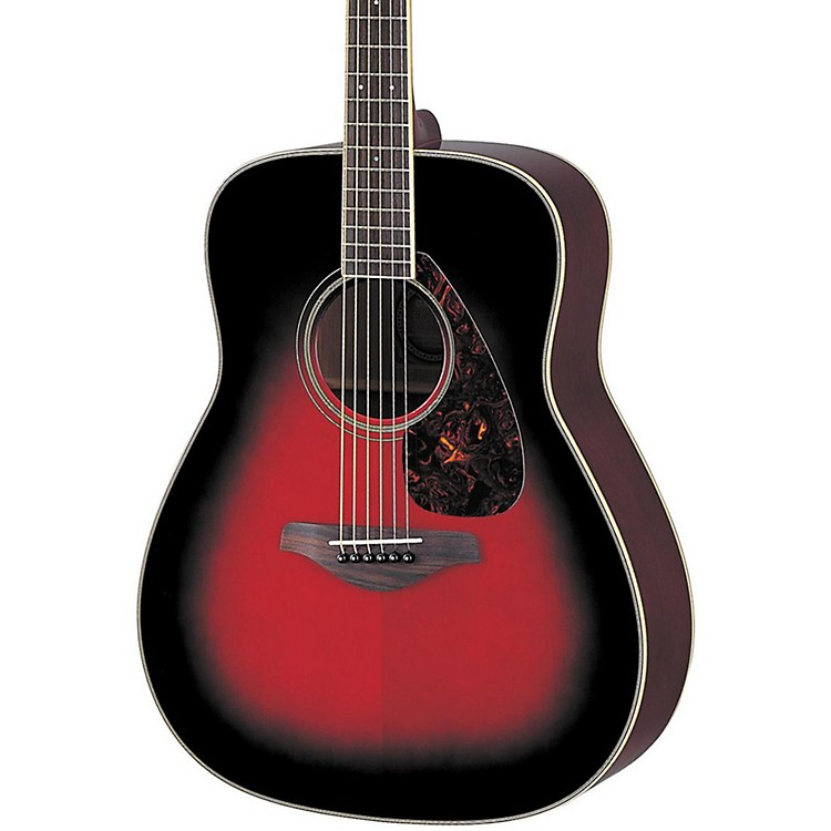 Yamaha FG720S Acoustic Guitar Dusk Sun Red